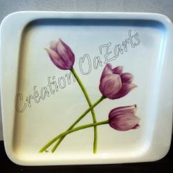 Plat tulipes