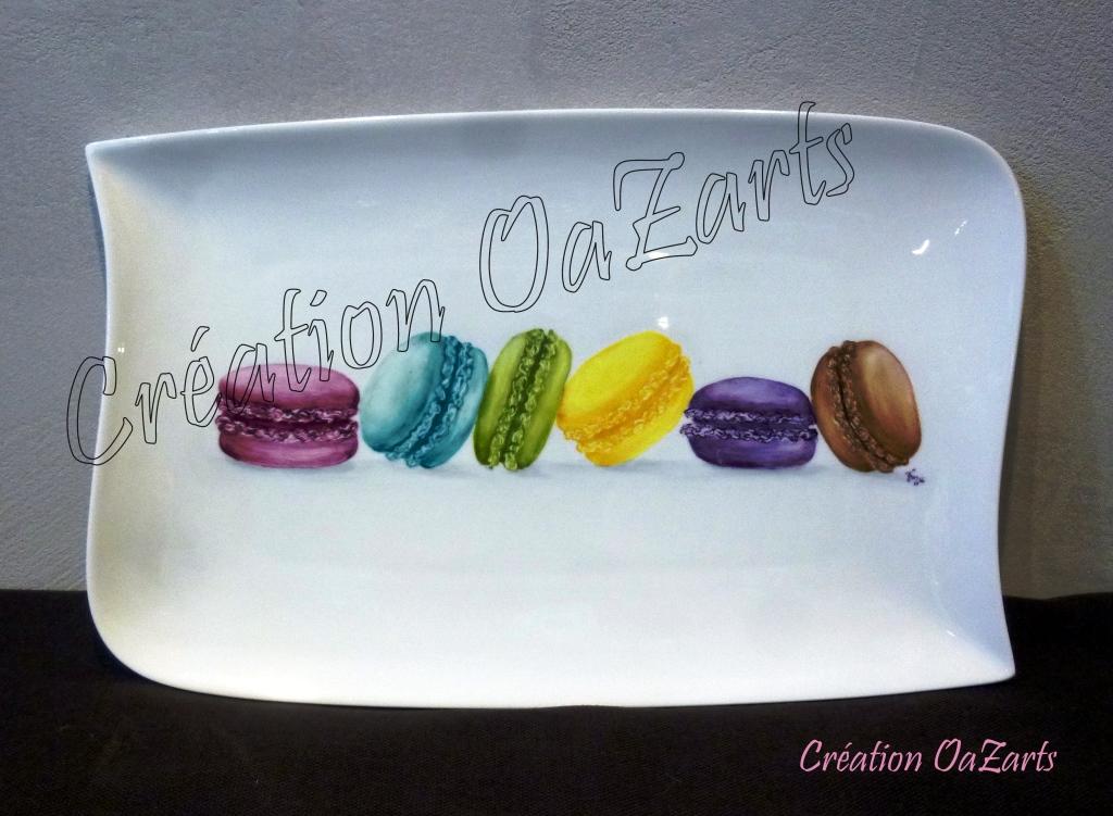 Plat Macarons